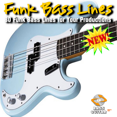 Product picture Bass Line - 80 Funk Basslines Royalty Free