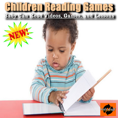 Product picture Children Reading Games - Baby Can Read Videos and Lessons