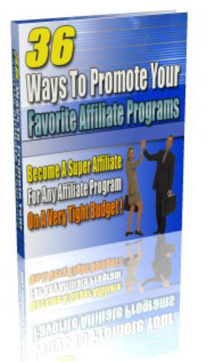 Product picture Make Money As Affiliate - How In 36 ways
