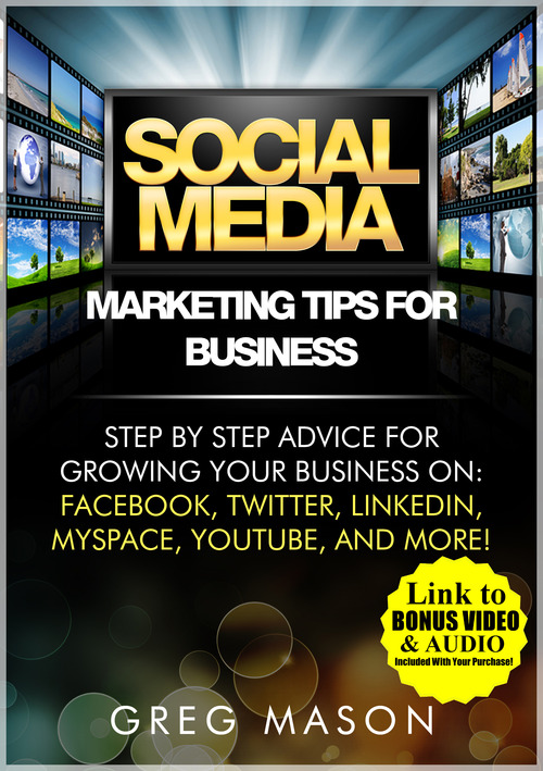 Product picture Social Media Marketing Tips for Business with BONUS VIDEOS!