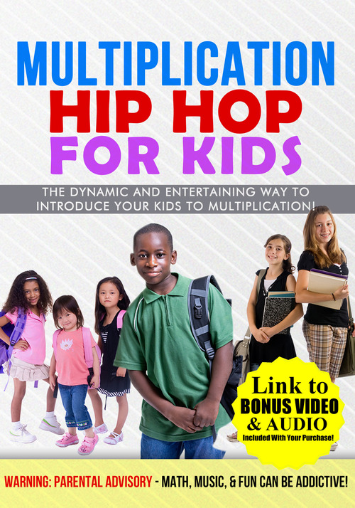 Product picture MULTIPLICATION HIP HOP FOR KIDS - LINK TO BONUS MUSIC/VIDEOS