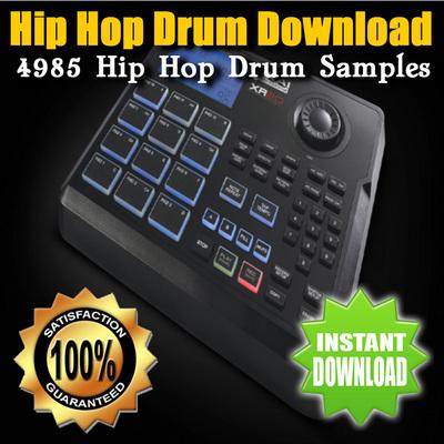 Product picture Hip Hop Drum Download - 4985 Hip Hop Drum Samples
